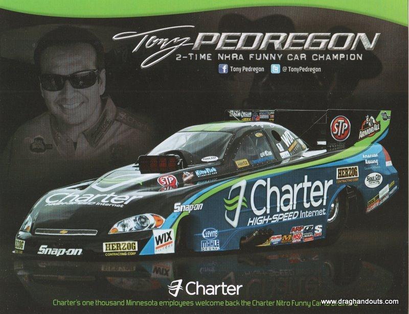2011 NHRA FC Handout Tony Pedregon (version #5) Charter