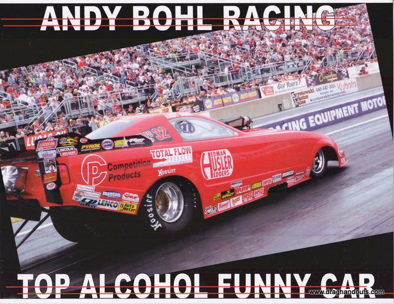2011 NHRA AFC Handout Andy Bohl