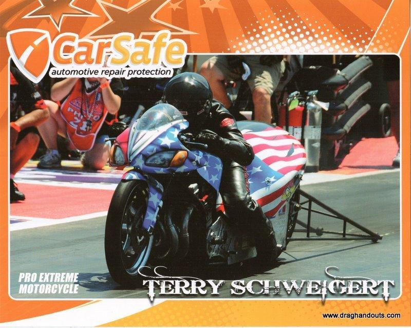 2011 NHRA PSB Handout Terry Schweigert