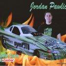 2011 NHRA AFC Handout Jordan Pawlick