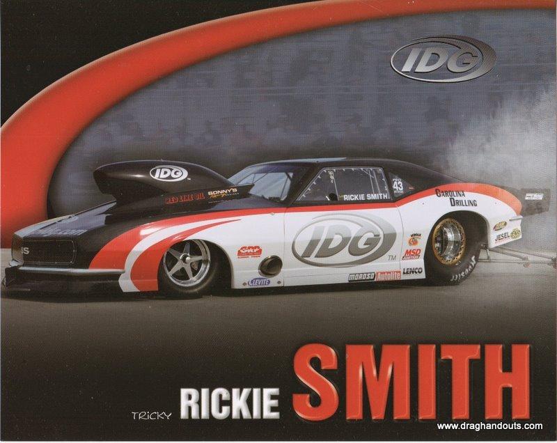 2011 NHRA PM Handout Rickie Smith