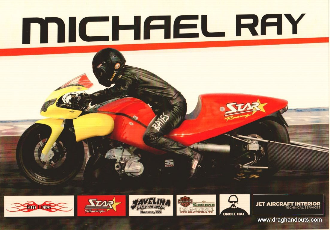 2011 NHRA PSB Handout Michael Ray (version #1)