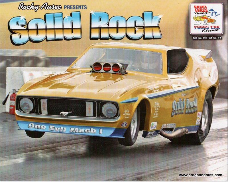 """2011 Nostalgia FC Handout """"Solid Rock"""""""