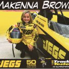 2011 NHRA JD Handout MacKenna Brown