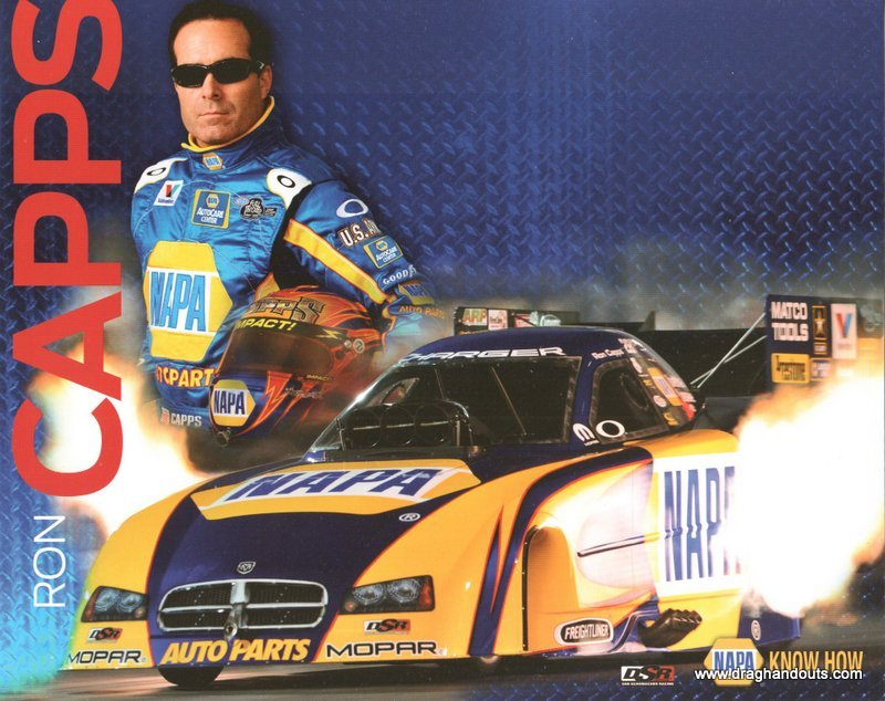 2012 NHRA FC Handout Ron Capps