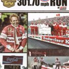 2012 NHRA TF Handout Kenny Bernstein 1st 300 MPH Pass