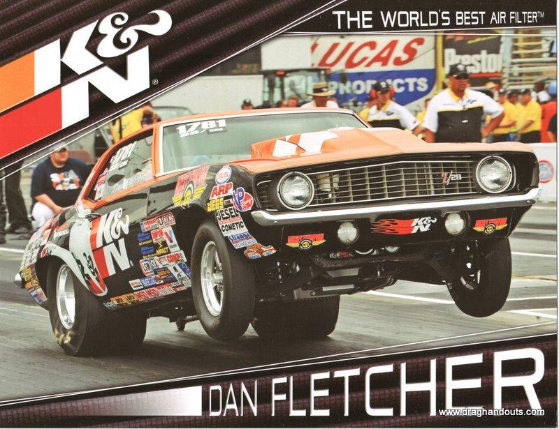 2011 NHRA Sportsman SS Handout Dan Fletcher