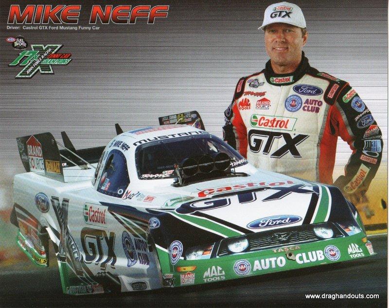 2012 NHRA FC Handout Mike Neff