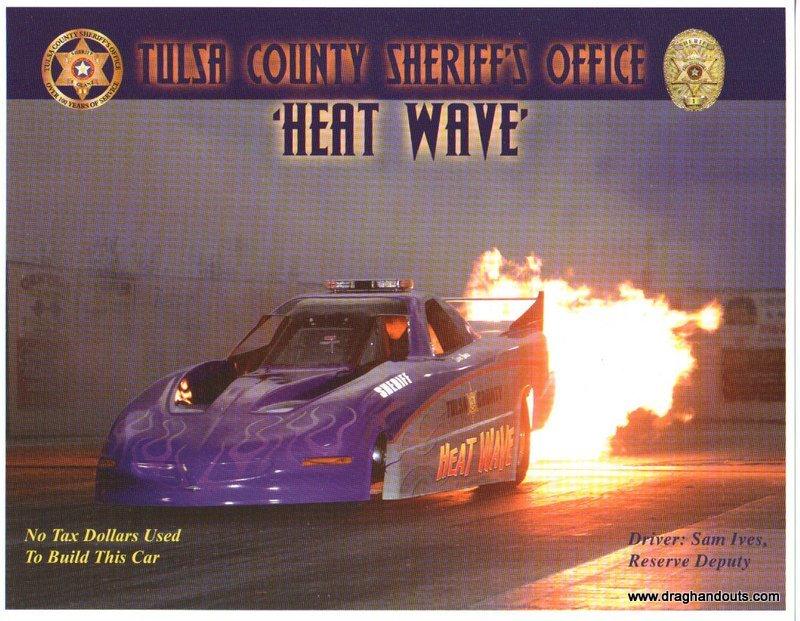 "2012 NHRA Jet Funny Car Handout ""Heatwave"""