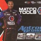 2012 NHRA TF Handout Antron Brown (Mac Tools)