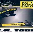 2012 NHRA TF Handout JR Todd (Dollar General)