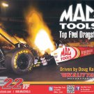 2012 NHRA TF Handout Doug Kalitta (Mac Tools #2)