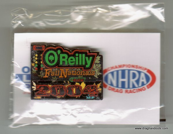 2004 NHRA Event Pin Dallas