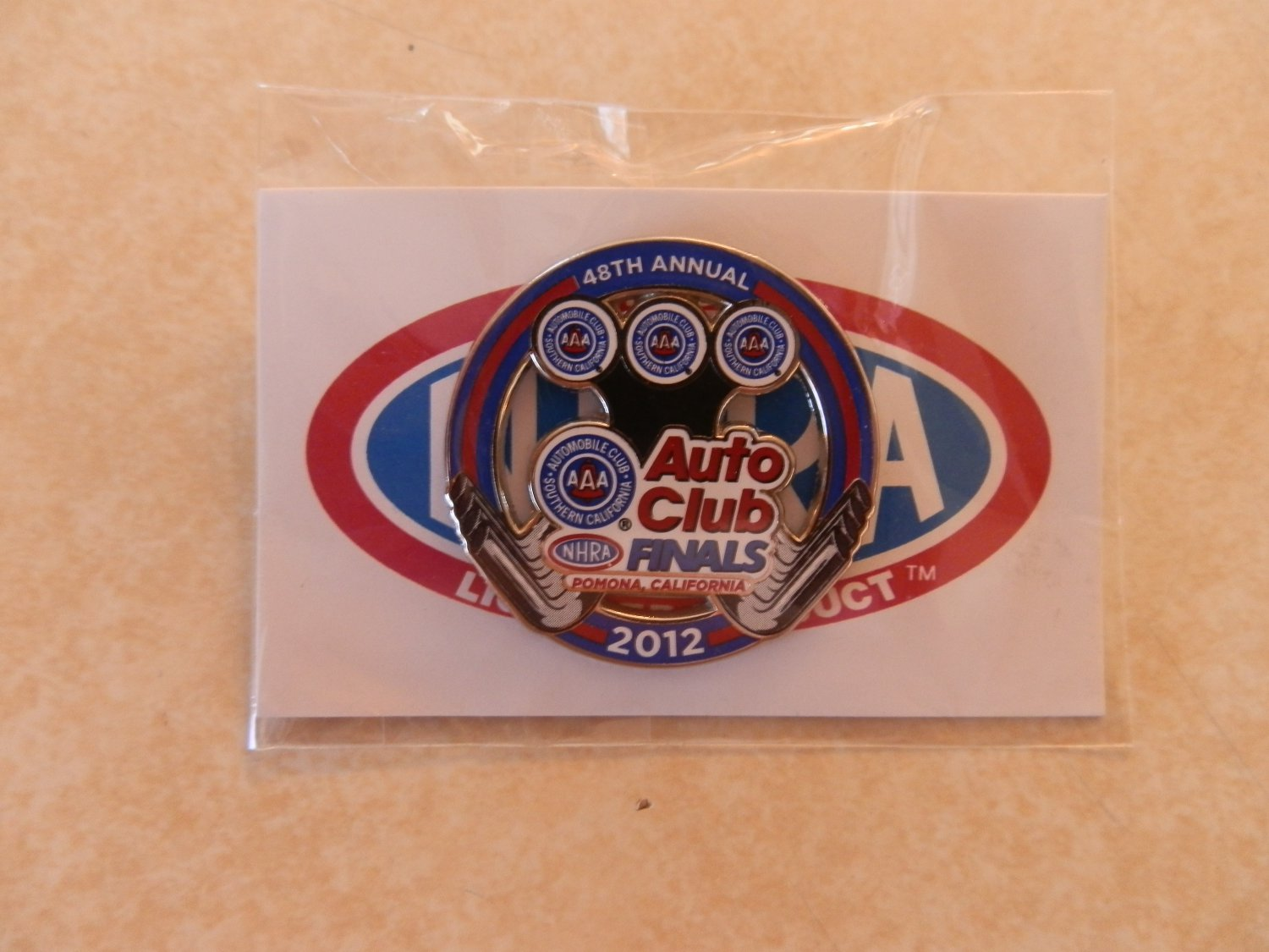 2012 NHRA Event Pin Pomona Finals