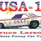 2013 NHRA Nostalgia FC Handout Bruce Larson USA 1 (version #1)