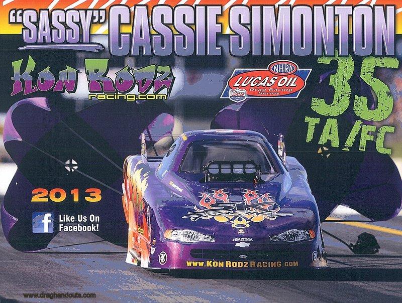 2013 NHRA AFC Handout Cassie Simonton (version #1) wm