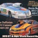 2013 NHRA PS Handout Kevin Bealko