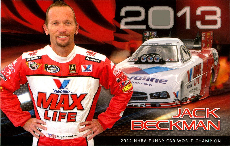 2013 NHRA FC Handout Jack Beckman Max Life