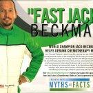 2013 NHRA FC Handout Jack Beckman Chemotherapy