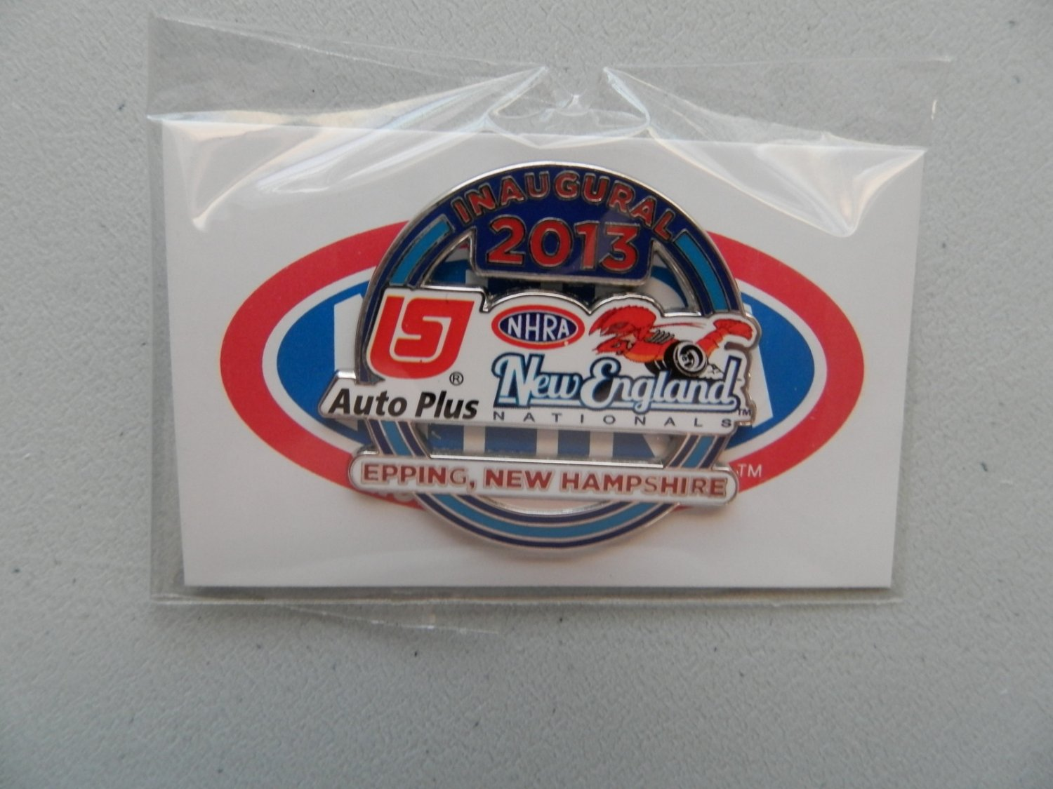 2013 NHRA Event Pin Epping (version #1)
