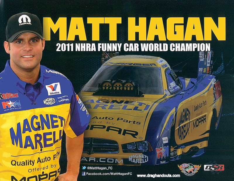 2013 NHRA FC Handout Matt Hagan (Magneti Marelli)