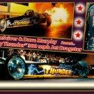 "2013 NHRA Jet Dragster Handout ""Jersey Thunder"""