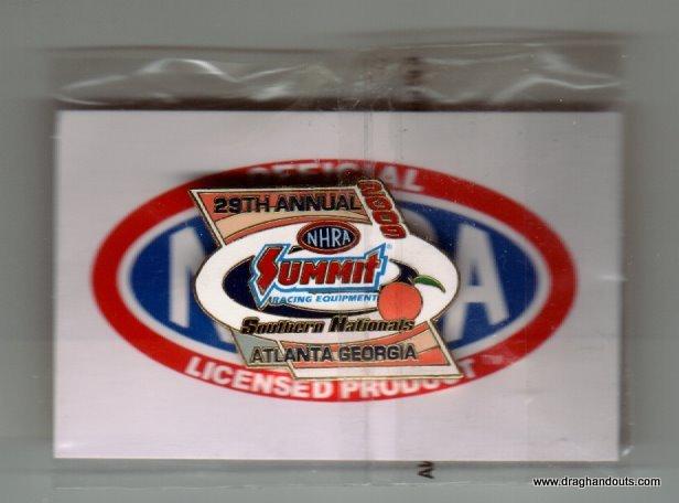 2009 NHRA Event Pin Atlanta