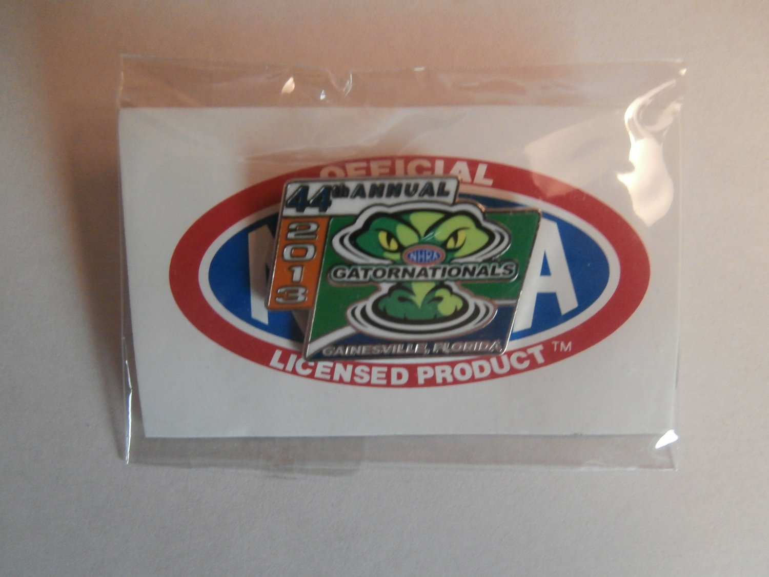 2013 NHRA Event Pin Gainesville #1
