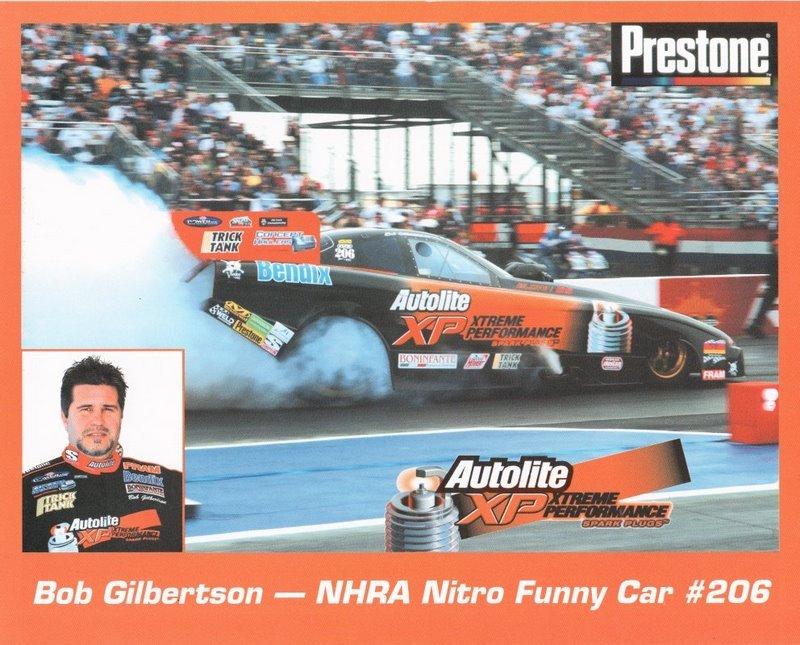 2005 NHRA FC Handout Bob Gilbertson (version #1)