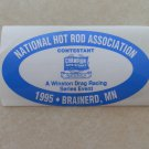 1995 NHRA Contestant Decal Brainerd