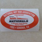 1995 NHRA Contestant Decal Sonoma