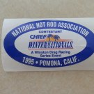 1995 NHRA Contestant Decal Pomona Winternationals