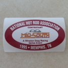 1995 NHRA Contestant Decal Memphis