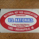 1995 NHRA Contestant Decal Indy