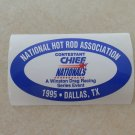 1995 NHRA Contestant Decal Dallas