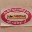 1997 NHRA Contestant Decal Memphis