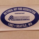 1997 NHRA Contestant Decal Seattle