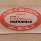 1997 NHRA Contestant Decal Sonoma