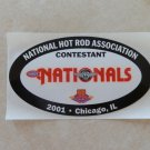 2001 NHRA Contestant Decal Chicago 1