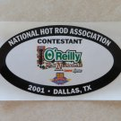 2001 NHRA Contestant Decal Dallas
