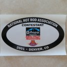 2001 NHRA Contestant Decal Denver
