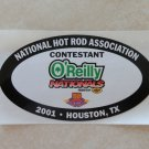 2001 NHRA Contestant Decal Houston