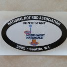 2001 NHRA Contestant Decal Seattle