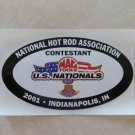 2001 NHRA Contestant Decal Indy
