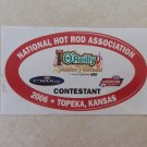 2006 NHRA Contestant Decal Topeka