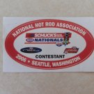 2006 NHRA Contestant Decal Seattle