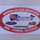 2006 NHRA Contestant Decal Pomona Winternationals