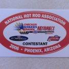 2006 NHRA Contestant Decal Phoenix