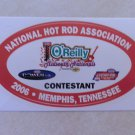 2006 NHRA Contestant Decal Memphis