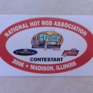 2006 NHRA Contestant Decal Madison